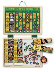 Melissa & Doug Magnetic Responsibility Chart Age 3 Years - MultiColor