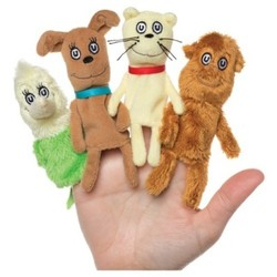 Manhattan Toy Dr. Seuss What Pet Should I Get Finger Puppet Set 1841207