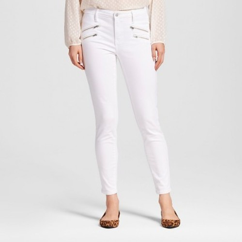 8ddfcd40d4 SASHA SUPER SKINNY JEAN WITH ANKLE ZIPPER