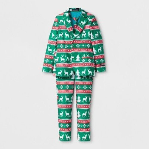 suitmeister boys christmas suit green m