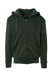 Men's Full Zip Sherpa-lined Hoodies 3XL Light Grey 1860170