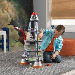 KidKraft Wood Rocket Ship Play Set - Multi 1851253