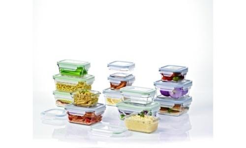 Glasslock Food Storage Container Sets Simple Glasslock Ovenproof Food Storage Container Set W Clear Lids Set