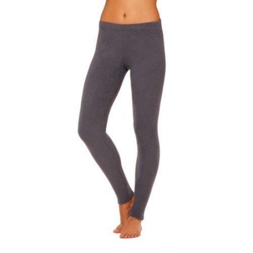 3345c6b7a02d33 Cuddl Duds Women's Stretch Fleece Warm Underwear Legging - Gray - Size:M - Check  Back Soon - BLINQ
