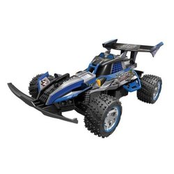 Nikko Turbo Panther X2 1:10 Scale Radio Control Vehicle Toy - Blue 1878866