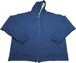 Champion Men's Full Zip Fleece Hoodie Jacket - Navy - Size: 3X 1889538