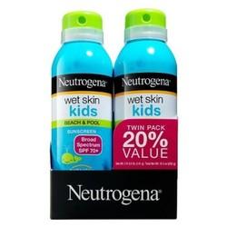 Neutrogena SPF 70 Wet Skin Kids' Sunscreen Spray - 2-Pack - 5oz each