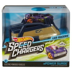 Hot Wheels Speed Chargers Powersurge Light Racer Car and Charger 1900720