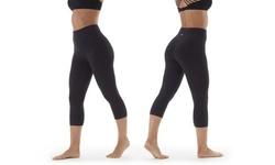 Marika Women's High Rise Tummy Control Leggings - Black - Size:L 1873631