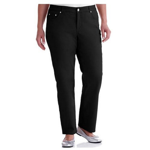 ed4f9d906f4 Just My Size Women's Classic Fit Straight Leg Jeans - Black - Size:20W -  Check Back Soon - BLINQ