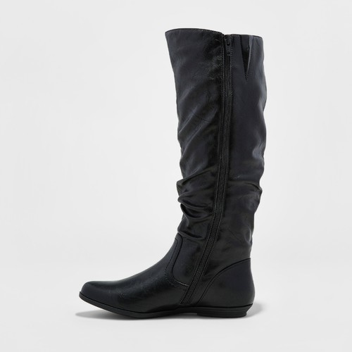 ee3bb77356e Mountain Sole Women's Frida Slouch Boots - Black - Size:7 - Check ...