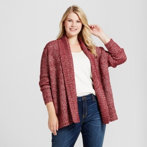 0d37cd790fbf6 Ava & Viv Women's Plus Size Cardigan - Berry - Size:X - Check Back Soon -  BLINQ