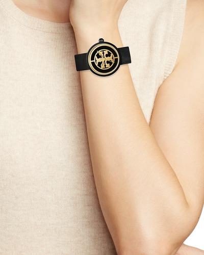 2b999d1ab Tory Burch Women's Reva Watch - Black/Gold - 36mm (TBW4024) - Check ...