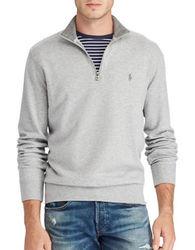 Polo Ralph Lauren Men's Luxury Jersey Pullover - Grey - Size: M 1941681