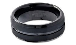 Jewelry Brothers Men's Tungsten Carbide Band Ring