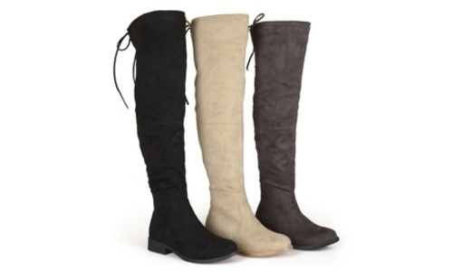 2d4e497f472 ... Journee Collection Women s Mount Over-the-Knee Boot - Black - Size  ...