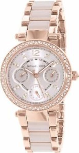 e90f0d79d54a Michael Kors Women s Mini Parker Two-Tone Watch MK6110 - Check Back ...