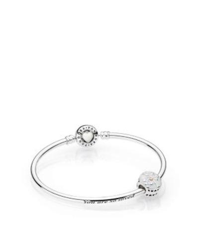 db3f8a610 Pandora Tree Of Hearts Limited Edition Bangle Gift Set - Size: 17 ...