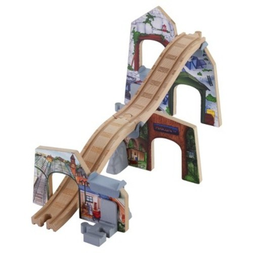 Fisher Price Thomas Friends Wooden Railway Scene Of Sodor Tunnel Set Check Back Soon