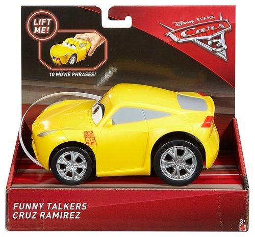 Disney Pixar Cars 3 Funny Talkers Cruz Ramirez Vehicle Yellow