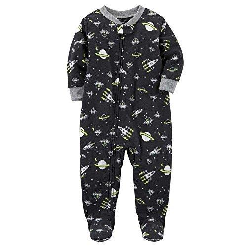 b0045e1ac Carter s Boy s 1-Piece Snug Fit Pajama - Space Print Black - Size ...