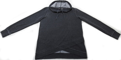 Calvin Klein Women's Cowl Neck Pullover Sweater - Slate Heather - Size:S 1958139