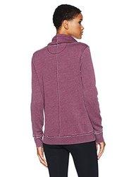 Calvin Klein Women's Performance Crossover Pullover - Merlot - Size:L 1960429