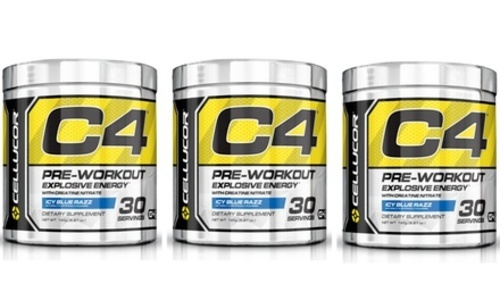 ... Cellucor C4 Explosive G4 Chrome Series Icy Blue Razz 30 Serving - 2 Pack ...
