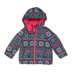 c6b2a6cf3 Carter s Girls  Long Sleeve Puffer Jacket - Multi - Size 6