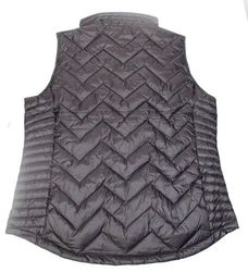 Calvin Klein Women's Down Filled Chevron Vest - Black - Size:XL 1889648