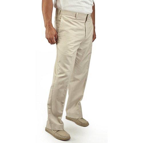 c00b5a0e Cubavera Men's Cotton Herringbone Textured Pant - Natural Linen - 36X30 -  Check Back Soon - BLINQ