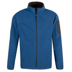 Free Country Men's Active Full Zip Fleece Jacket - Cold Blue - Size:L 1992470