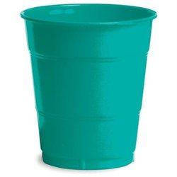 Plastic Cups, 12 Oz, Emerald Green, 20 Count 2028952
