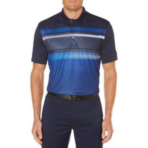 Ben Hogan Men's Performance Golf Polo Shirt - Stripe Navy - Size:L - Check  Back Soon