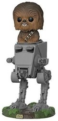 Funko Pop Deluxe: Star Wars-Chewbacca in AT-ST Collectible Toy 2077065
