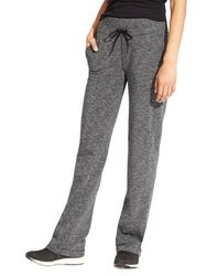 Active Life Women's Straight Leg Yoga Lounge Pant - Charcoal - Size:M 2075885