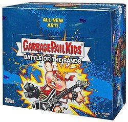 Topps 2017 Garbage Pail Kids Battle of The Bands Sticker Cards - 24 Pack 2086548