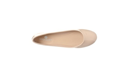 Riverberry Women's Patent Closed Round
