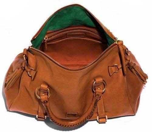 a161384a3ab8 Dooney & Bourke Women's Florentine Leather Satchel Bag - Brown ...