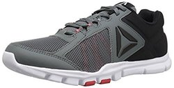 Reebok Men's Yourflex Train 9.0 MT Running Shoe, Alloy/Primal Red/Black/White, 13 M US 2122424