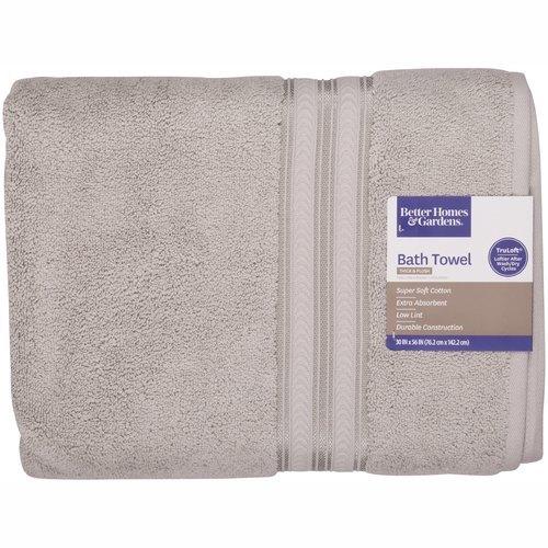 Better Homes U0026 Gardens Thick U0026 Plush Solid Bath Towel ...