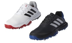 Adidas adiPower Bounce Men's Golf Shoes 11 WIDE White/ Black 2149716