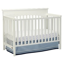 Graco  Lauren 4-in-1 Convertible Crib - White