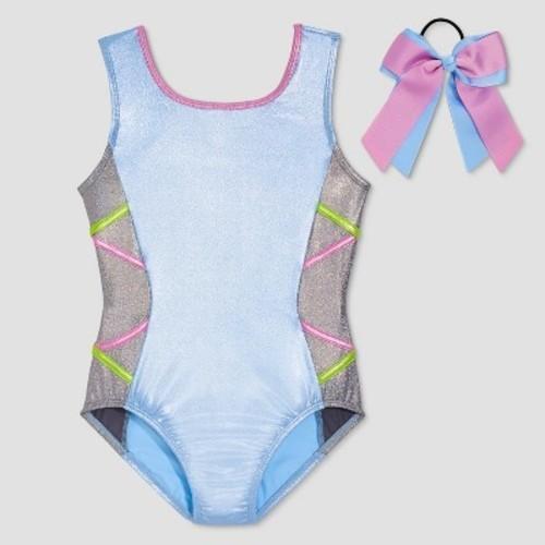 e3a9deeb4 Danskin Freestyle Girls  Leotards - Light Blue - Size XS - BLINQ