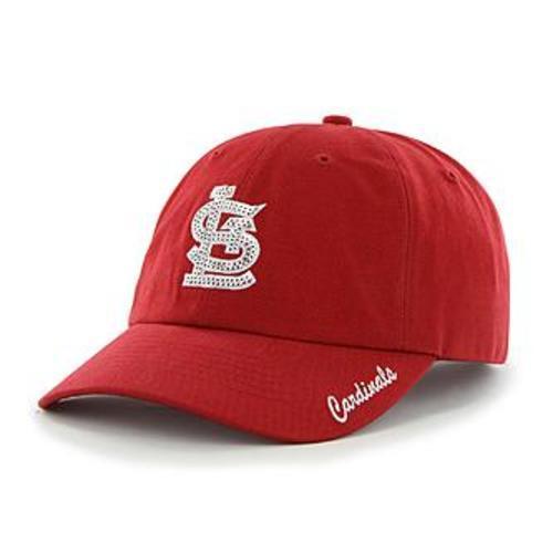 945a544d7dcf6 Fan Favorite MLB Sparkle Women Adjustable Cap St. Louis Cardinals ...