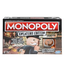 Hasbro Monopoly Cheaters Edition Classic Board Game