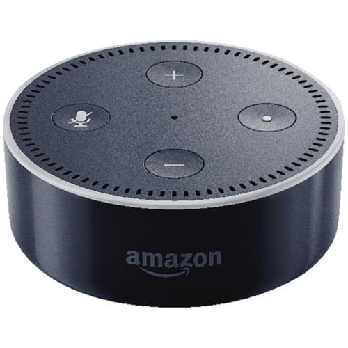 amazon echo dot bluetooth speaker black 53 005166. Black Bedroom Furniture Sets. Home Design Ideas
