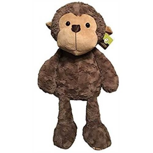 Animal Adventure Big Soft Monkey Plush Toys Pink Blinq