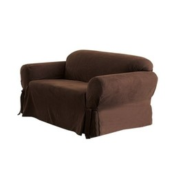 Deals on Sure Fit Soft Suede Loveseat Slipcover