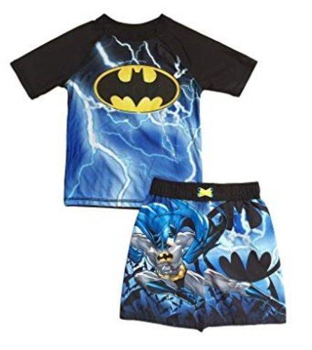 0a536594cf Toddler Boys' Batman Swim Trunks and Rash Guard Set - Multi - Size ...
